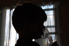 Sillouette of Asthma