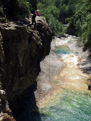 Salto 12 metros Escuain: Droid