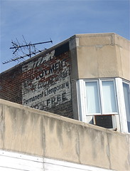White Collar Girls Ghost Sign
