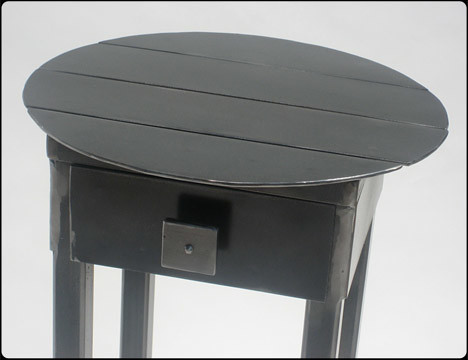 Roundhouse Round Metal Table