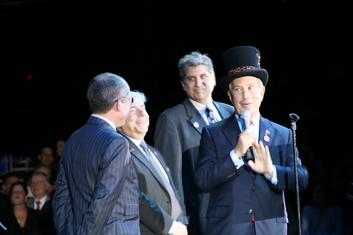 Mayor Michael Bloomberg, Councilman Domenic Recchia & Borough President Marty Markowitz at Opening Night of Ringling Bros Circus in Coney Island. Photo by Pablo57 via flickr