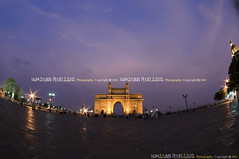 Gateway of India, Mumbai - India (Humayunn N A Peerzaada) Tags: people india lens model photographer britain tourist tourists fisheye tokina queenmary actor british maharashtra mumbai brit gatewayofindia humayun d90 commemorate kinggeorgev tokinalens apollobunder peerzada tokinafisheye nikond90 mcmxi humayunn peerzaada apollobandar humayoon wwwhumayooncom humayunnapeerzaada tokinafisheyelens nikond90clubasia humayunnnapeezaada 10to17mmf3545 imperialmajesties landinginindia secondofdecembermcmxi 2nddecembermcmxi