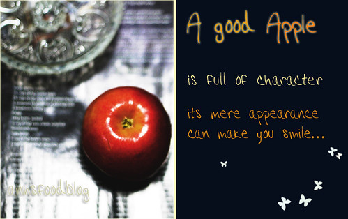 A good apple...