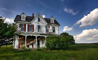 Abandoned House - Maryland's Eastern Shore