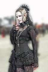 Just like a gothic girl (Setekh81) Tags: gothic schwarz meraluna