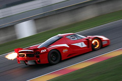 Ferrari FXX on Top Gear +The Stig Revealed! (ColdTrackDays.com) Tags: uk red video glow top gear ferrari flame enzo shooting brake 2009 exhaust rotor topgear jeremyclarkson ferrarienzo fxx enzoferrari thestig ferrarifxx ferrarired coldtrackdays coldtrackdayscom whoisthestig