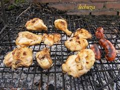 Barbacoa de pollo-hecho