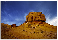 (A.Alwosaibie) Tags: light sky rock photo nikon shot spot d60 sigma1020mm                  aalwosaibie