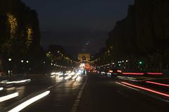 Arc de Triomphe (runarur) Tags: paris arcdetriomphe champslyses lightstream