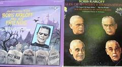 Boris on Wax (Joey Myers) Tags: records halloween joey collection boris myers karloff