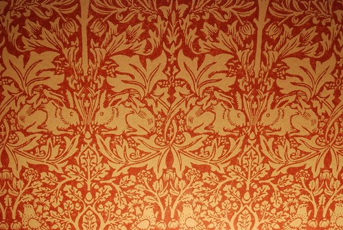 lisa kaye wallpaper. Leigh House - Details from Our Room - William Morris Wallpaper