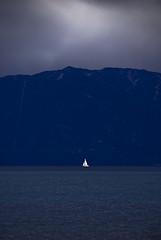 the ghost of fredo (SheffieldStar) Tags: california mountain scale sailboat alone sailing nevada ghost sails laketahoe calm alpine single tiny elusive kaiser phantom solitary mighty fredo thegodfather silentfoto fleurdulac sugarpinesstatepark