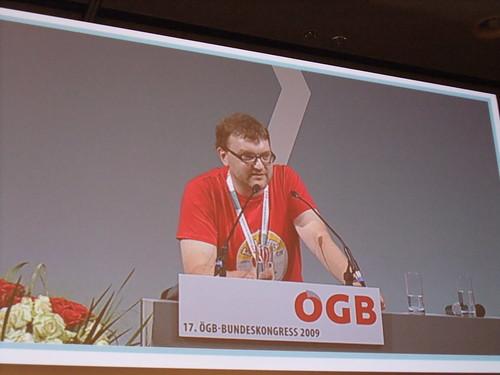 Markus Koza kritisiert die Retro-Perspektive des Programms in den Bereichen Klima- und Umweltschutz