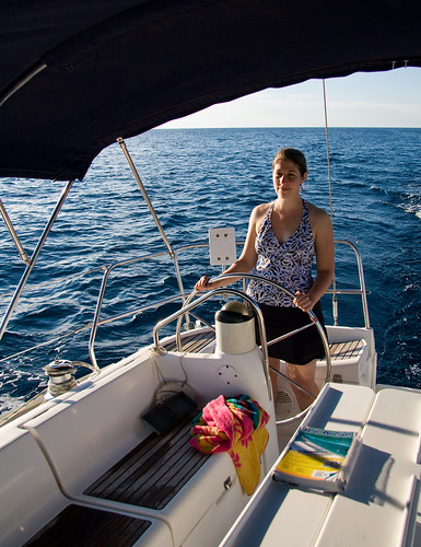 ocean vacation water wheel sailboat boat sailing steering mary grenada caribbean jeanneausunodyssey40 pythonvoyageri