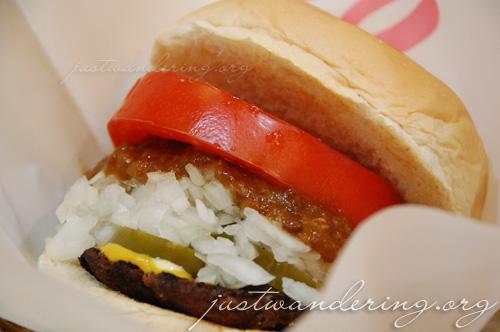 Sango Master Chili Burger