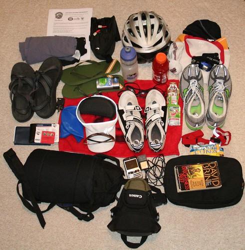 Triathlon Packing Plan