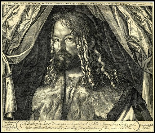 Portrait of Albrecht Durer (about 1618)