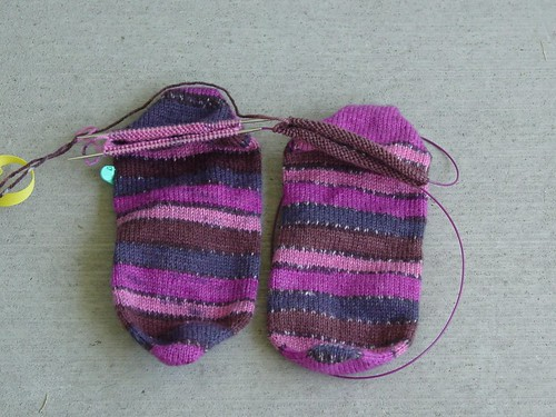 Toe up Kroy Socks