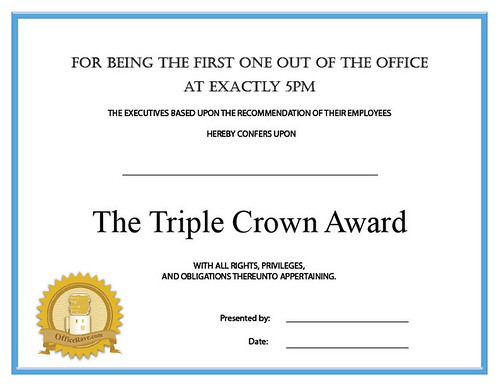 Silly Certificates Awards Templates  BesikEightyCo