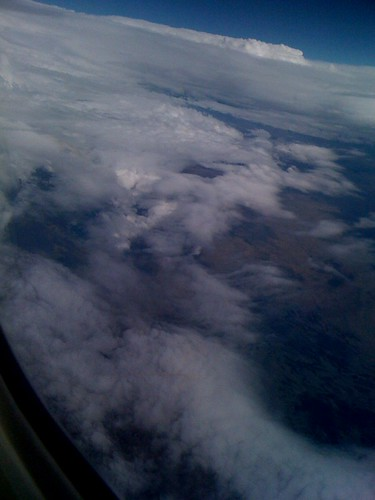 35000 feet over the Rockies