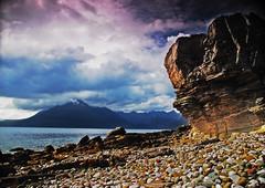 Elgol (pitty107) Tags: sea cloud mountains skye beach scotland nikon loch cullins elgol d40x