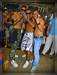 Zurich Street Parade 2009 We are the champions of the world (Izakigur) Tags: street shirtless people house sexy festival tattoo ink happy schweiz costume nikon europa europe flickr gare body zurich feel bahnhof parade tattoos hauptbahnhof streetparade d200 zrich zuerich 2009 loveparade mainstation dieschweiz zurigo zurichmainstation zurichhb zurichhauptbahnhof zurichstreetparade izakigur loveparade2009 streetparade2009 izakigur2009 zurichstreetparade2009 izakigurstreetparade izakigurstreetparade2009 izakigurzurich zurigostreetparade streetparadezurigo