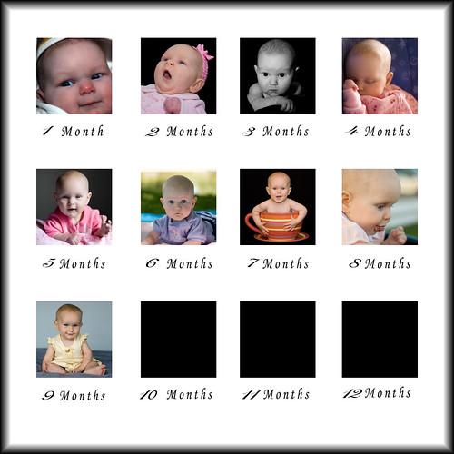 Maddie's 1st 9 months