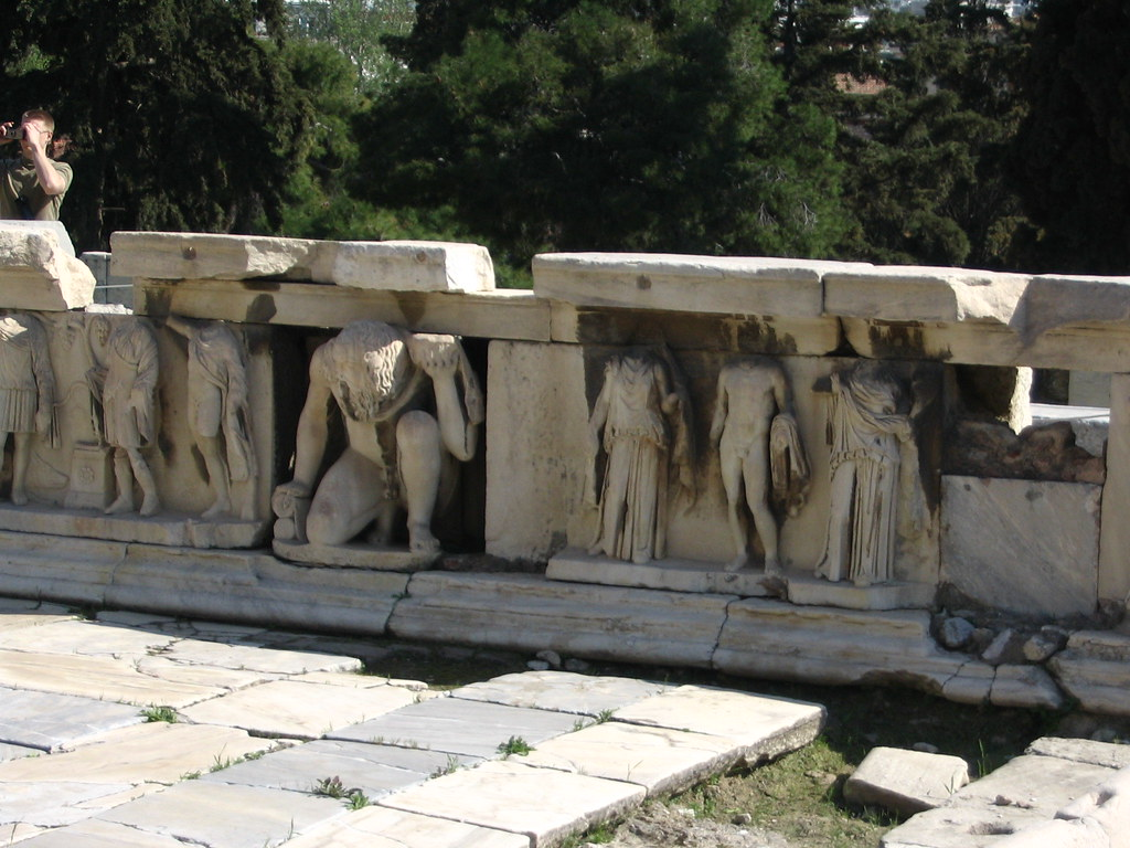 Stage Frieze-Theatre Of Dionysus-C