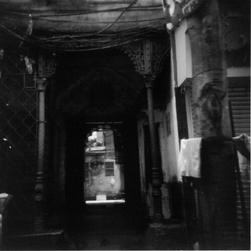 Calcutta Alley Holga