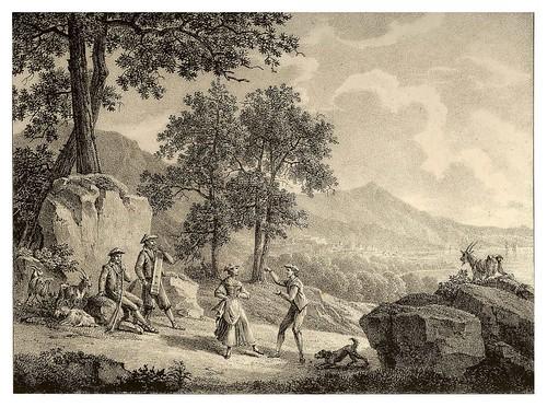 017- Tamboril vasco alrededores  de San Sebastian 1810- Copyright 2009 álbum SIGLO XIX. Diputación Foral de Gipuzkoa