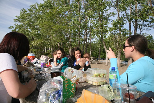 Girls Group Picnic