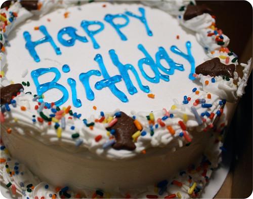 Ben & Jerry's Birthday.