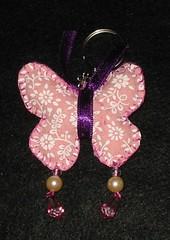 Chaveiro de borboleta (Artes e Coisas) Tags: borboleta chaveiro