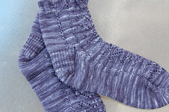 WendyKnits On Hold socks