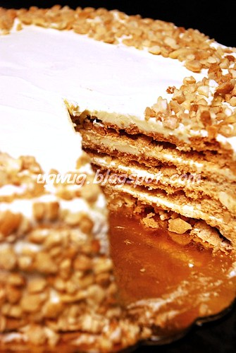 San Rival Cake