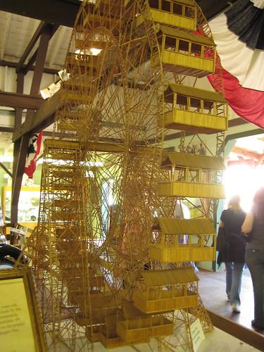 Toothpick Ferris Wheele