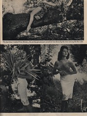 Among The Live Oaks (The Cardboard America Archives) Tags: men vintage magazine women creepy 1959 girlwatcher