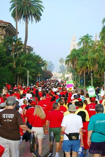 Walk in Balboa Park