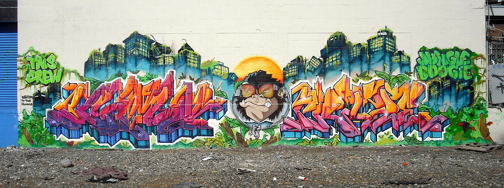 TNS Crew, Graffiti Production - Oakland, CA