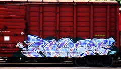Night (mightyquinninwky) Tags: night geotagged graffiti tag graf tracks tags tagged urbanart explore railcar rails spraypaint boxcar graff graphiti invite freight trainyard trainart paintedtrain freightyard railart awarded theworldwelivein explored taggedtrain wafflecar taggedboxcar paintedboxcar geo:lat=37956609 paintedrailcar taggedrailcar admininvite geo:lon=87614197 exploreformyspacestation bestofformyspacestation trainsformyspacestation