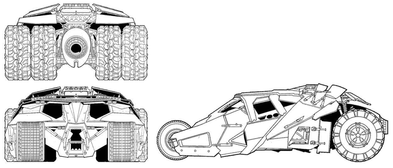 Lego Batman Tumbler With Batpod Transformation!! 7888: A LEGO® Creation By Artifex Creation