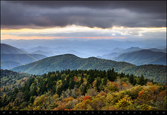 Blue Ridge Parkway Autumn Sunset NC - Boundless (Dave Allen Photography) Tags: travel autumn trees sunset sky mountain mountains fall nature beauty leaves clouds landscape outdoors photography evening nc nikon seasons asheville seasonal scenic calming peaceful northcarolina bluemountains fallfoliage foliage parkway carolina serene peaks overlook dramaticsky appalachia blueridgemountains blueridgeparkway blueridge ridges distant daveallen appalachianmountains 1735mm appalachians wnc d300 naturesfinest westernnorthcarolina ashevillenc leafchange cowee southernappalachians platinumheartaward nikond300 absolutelystunningscapes daveallenphotography mygearandme blueridgeparkwaysunset mygearandmepremium mygearandmebronze mygearandmesilver mygearandmegold mygearandmeplatinum mygearandmediamond blueridgeparkwayinautumn
