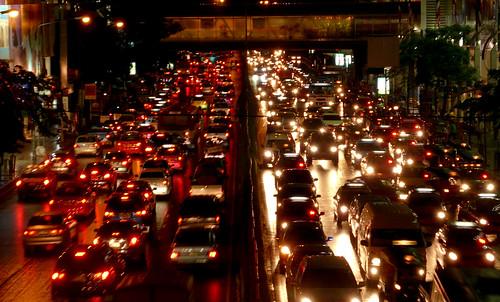 Traffic Jam in Bangkok - The Equity