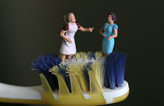 brush (fantasio4) Tags: mini 187 figures modell figuren noch h0