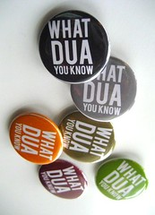 WHAT DUA YOU KNOW button