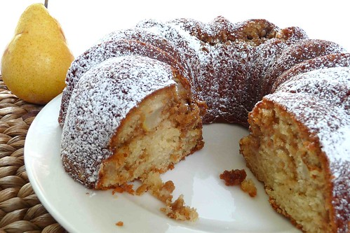 Ed Pear Coffee Cake With Brown Sugar Oats Recipe