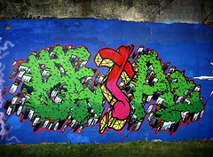 Beta (_NSA_) Tags: street uk color colour green art monster wall wales composition typography photography graffiti design photo montana paint northwest britain good letters great north fine style beta beat type british hiphop form graff piece setting technique msc settings wirral belton merseyside subculture nsa northwales rtm ironlak illuminarty