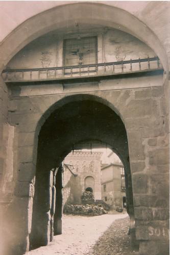 Puerta de Valmardón de Toledo a inicios del siglo XX