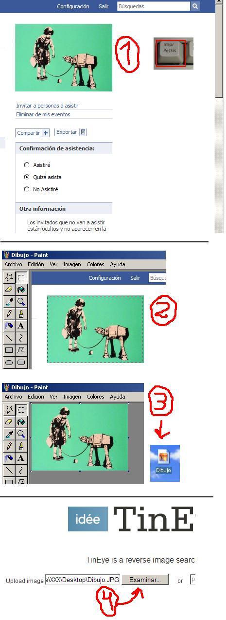 Como encontrar una imagen a partir de otra de menor calidad