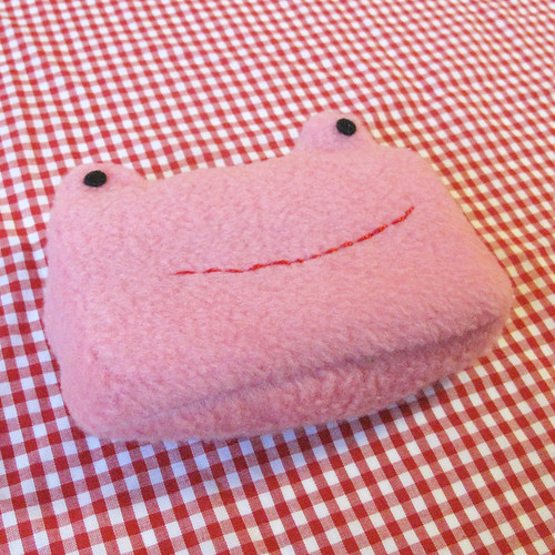 Tissue Pal Pink Frog.